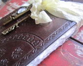 Wedding Guest Book Customize Steampunk Vintage Styled Leather Groom will like too
