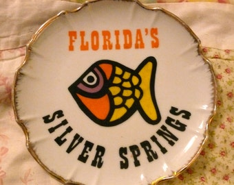 Silver Springs Florida Collectible Plate