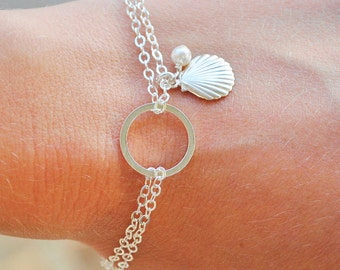 how to clean a rope bracelet with shells