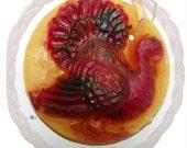 Turkey beeswax ornament