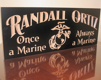 Military Retirement Sign, Military Gift Ideas, Military Retirement Gift, Veteran Gift Idea, Benchmark Custom Signs Maple MG