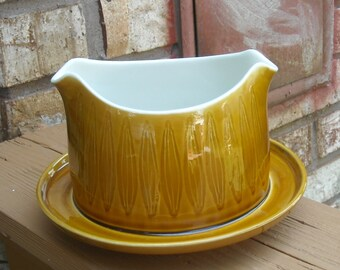 Gravy Boat in the Topaz pattern by Franciscan China