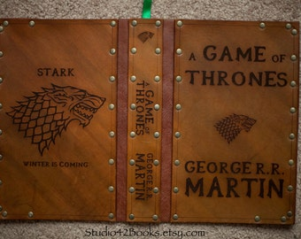 Leather covered copy of Game of Thrones
