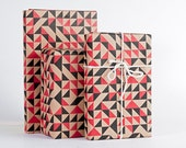 Geometric Quilt Wrapping Paper