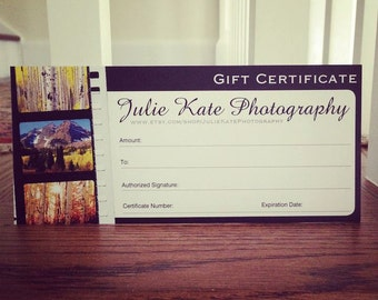 Gift Certificate - Five Hundred Dollars