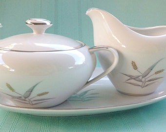 Stardust Collection Empress Harmony Cream and Sugar Set
