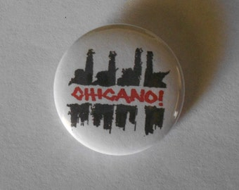 "Chicano 1.25"" Pinback Button"