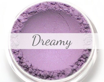 """Eyeshadow Sample - """"Dreamy"""" - soft lilac with blue violet duochrome - Mineral Eyeshadow (Vegan) Mineral Makeup Eye Color Pigment"""