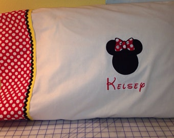 Disney Personalized PILLOWCASE - Standard Size