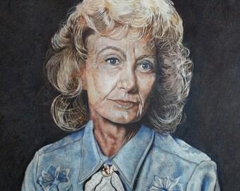 Custom Portrait -Pastel portrait  1 subject