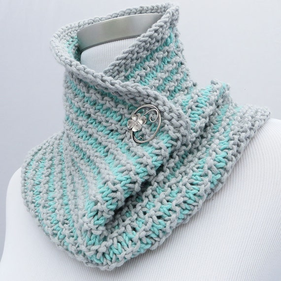 On Sale 25% off: Hand knit infinity scarf / cowl by ...