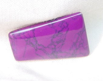 """Reconstituted """"sugilite"""" rough lapidary slabs for cabochon gemstone jewelery  2094Af"""