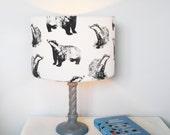 Badger Lampshade