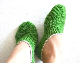FREE SHIPPING Green Healthy Booties Home slippers Dance classic yoga sexy hygienic light Naturel Silk cashmire crochet