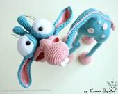 005 Giraffe Crochet pattern PDF file. Amigurumi toy with wire frame. Sculpture. By Astashova Etsy