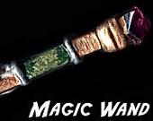 Leaf Blade  Cosplay Wizard Magic Wand OOAK