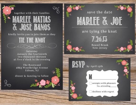 Wedding Invitations Spanish: Unavailable Listing On Etsy