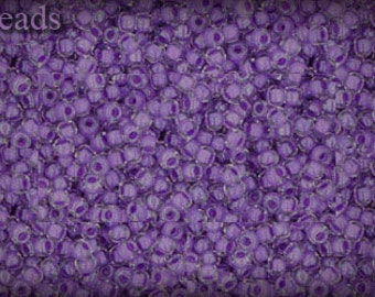 11/0 TOHO seed beads 10g Toho beads 11/0 seed beads Crystal Wisteria 11-935 Bright Purple Violet Lilac Purple seed beads