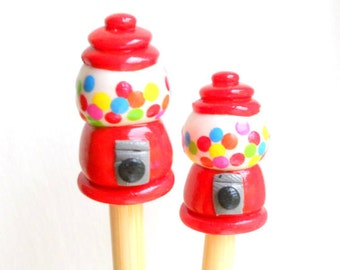 Gumball Machine Knitting Needles