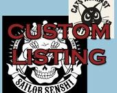 PRIVATE: Custom listing for Rachelle A.