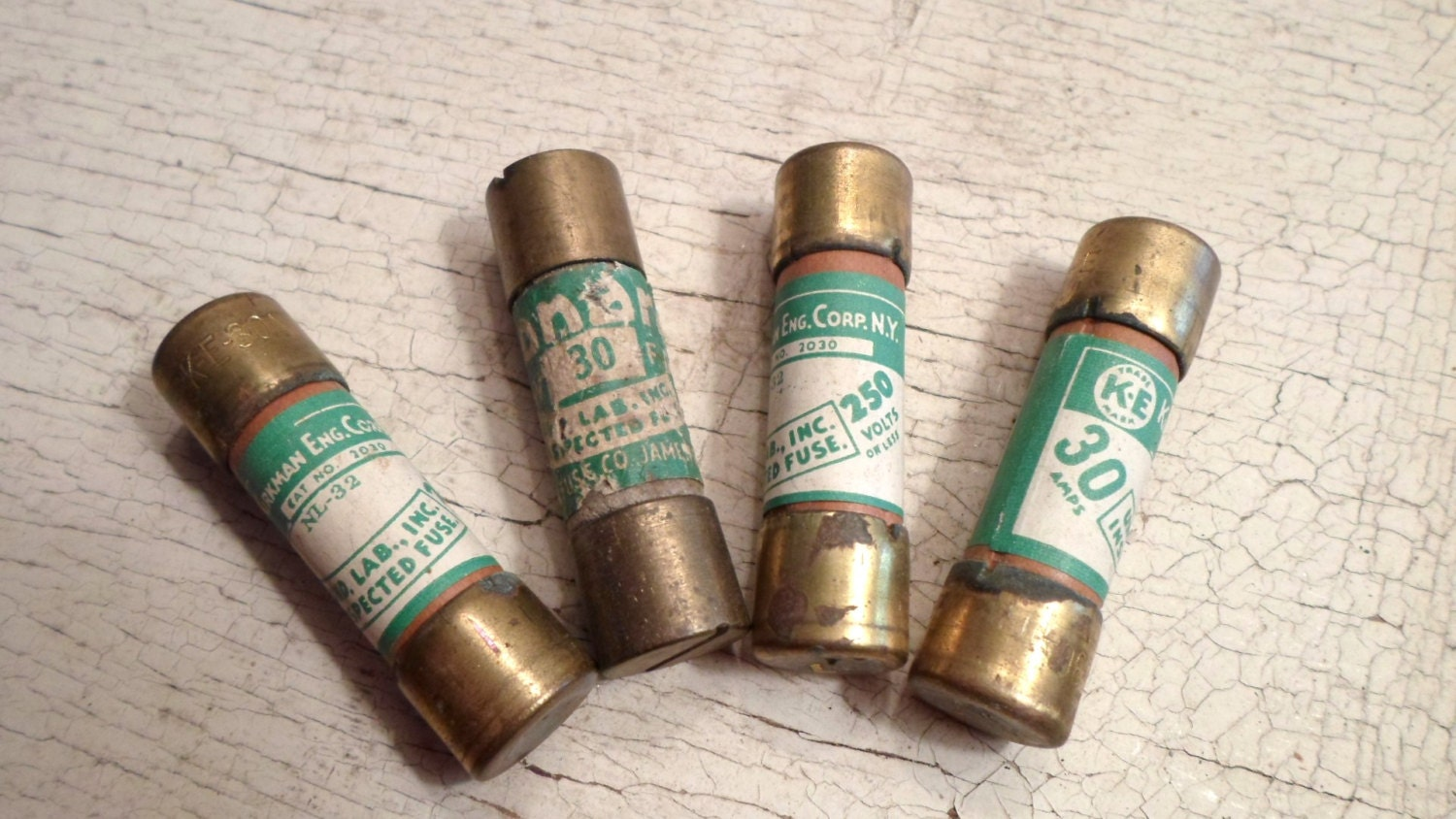 vintage fuse vintage fuses 4 pcs brass caps labels industrial repurpose 1940s electrical box fuse box altered art supplies all vintage man