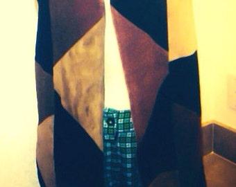 Size 7 Preppy Plaid St.Patrick's Day vintage retro shorts
