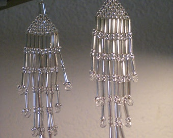 """All silver seed & bugle beads 3"""""""