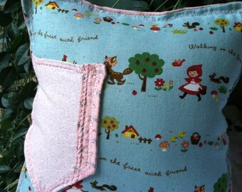 Tooth fairy red ridding hood thyme pillow