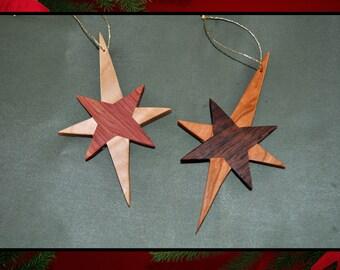 Christmas star ornaments - 2