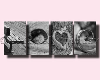 alphabet photography letter art LOVE 2 copies instant download