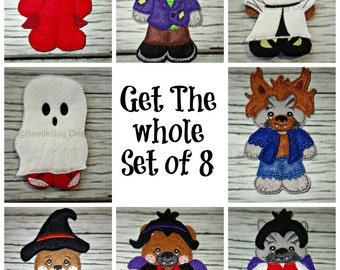 ITH UnPaper Doll Halloween Costumes Set of 8 Instant Download