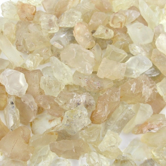 8pcs Oregon Sunstone, X-Small, Jewelry or Terrarium Supply, Raw and Natural