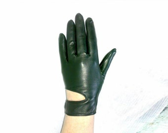 Women's leather gloves (9251). Different Sizes.