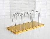 Wire Mail Organizer, Honey Yellow