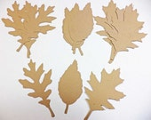 Tim Holtz Tattered Leaves Card Stock Set of 4