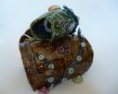 Kraken's Tipsy Rum Barrels Aquarium or Terrarium Decoration