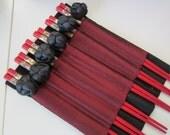 Asian Chopsticks and Napkins
