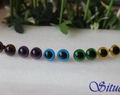 5 pairs 18mm color plastic safety eyes for Plush Toy