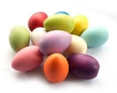 12 Wooden Eggs - Rainbow - Pastel - Pick and Choose Your Own - Bakers Dozen - Play Food - Color Sorting - Montessori Toys