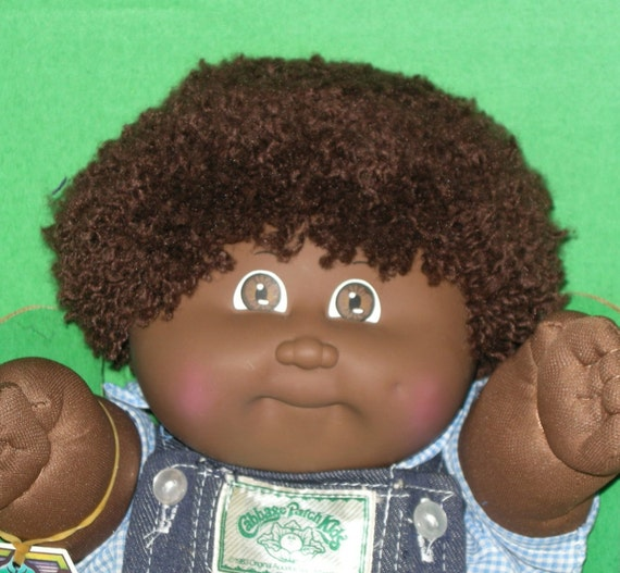 Cabbage patch kids afro