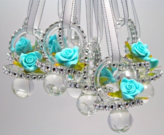 pacifiers baby shower pacifier necklace 12 pieces baby shower