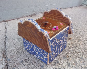 Mosaic Keepsake Treasure Box