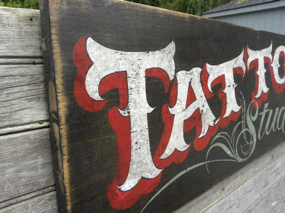 hand painted tattoo signs | eBay