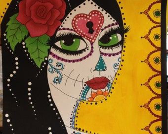 Miss Hollow - Dia de los Muertos Art