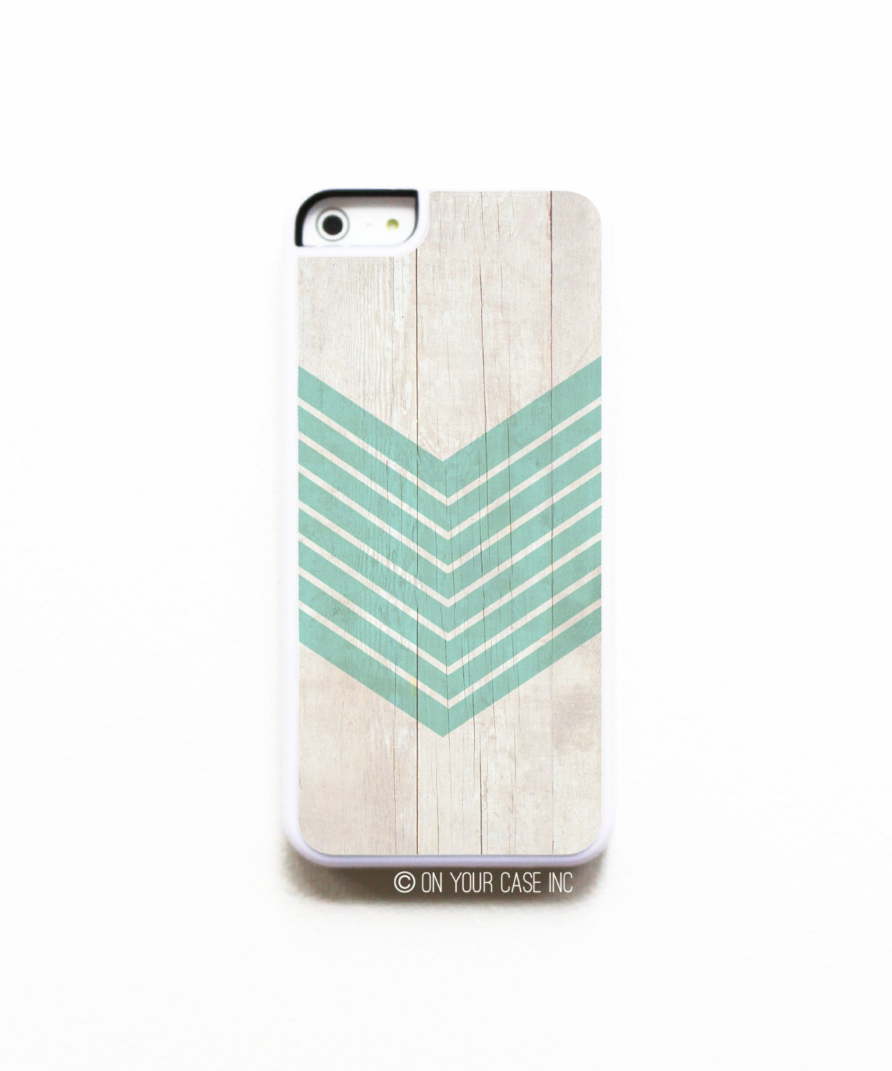 Iphone 5c Case Wood Geometric Teal Phone Case Phone Cases
