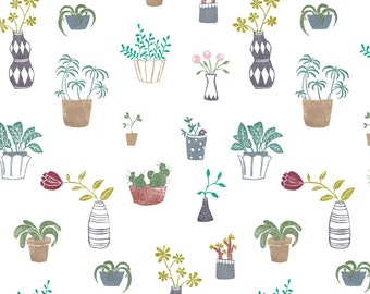 "Wrapping paper ""Botanica"" plants"