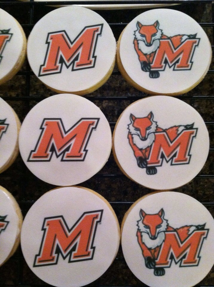 University College Logos College Logo Cookies
