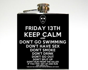 Friday the 13th Flask