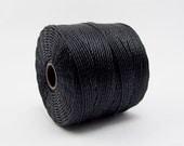 S-Lon Beading Thread 77 Yards Black #45-8110