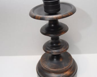 Candle Holder - Oil Rubbed Bronze &  Copper Finish